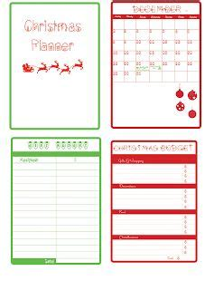 printable christmas party planner 17 best images about christmas planners and printables on