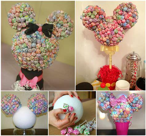 Easter Centerpiece Ideas by Wonderful Diy Minnie Mouse Lollipop Tree