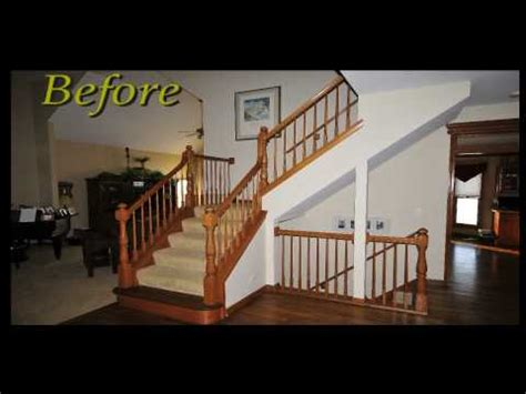 Rod Iron Banister Replace Wood Spindles With Wrought Iron Balusters Best