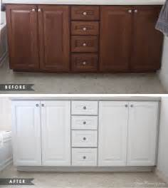 Can You Paint Kitchen Cabinets Without Removing Them How To Paint Cabinets Without Removing Doors House Mix