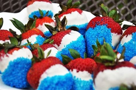 family go round july 4th chocolate covered strawberries