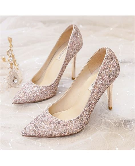 sparkly shoes for simple sparkly silver wedding shoes high heels for brides
