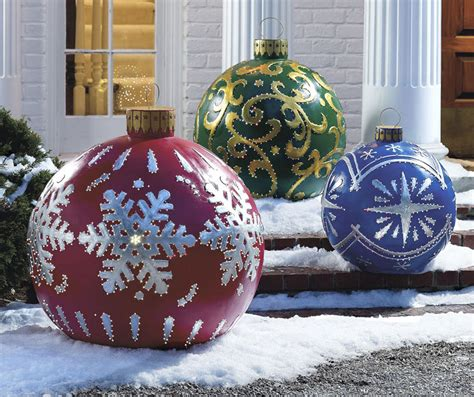 lighted outdoor ornaments how to design make lighted outdoor decorations