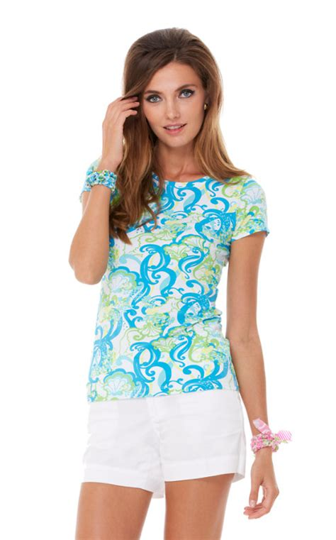 Morning Whistle Crew Neck Ride To Bike T Shirt karrie crew neck top lilly pulitzer
