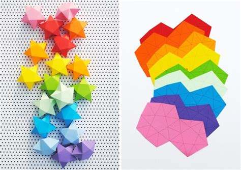 lettere colorate da stare rainbow diy paper project torn from the sky diy fold