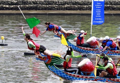 where is dragon boat festival celebrated in hong kong hong kong celebrates dragon boat race with gusto and pomp