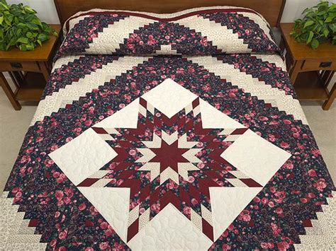 Amish Lone Quilt by Lone Log Cabin Quilt Great Ably Made Amish Quilts