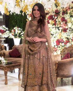 gorgeous   aima baig   sister wedding stylepk