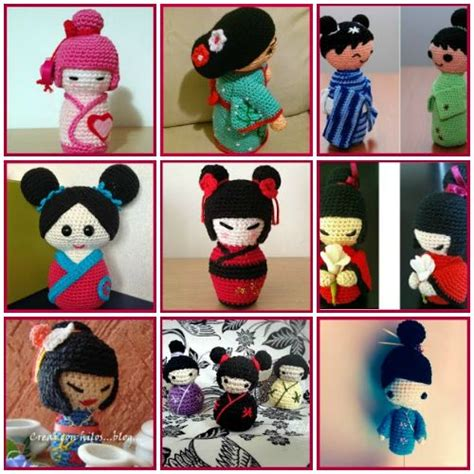 pattern for japanese doll 326 best images about crochet japanese dolls on