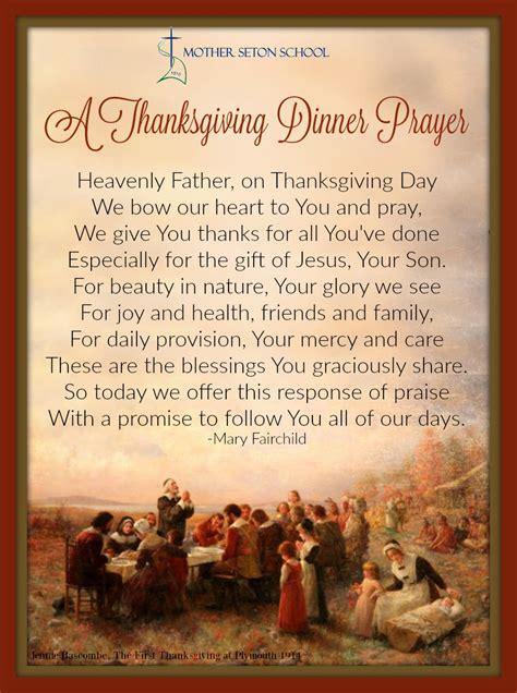 thanksgiving prayers for dinner table a thanksgiving dinner prayer seton spirit