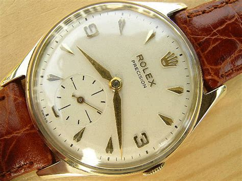 rolex gold 1958 vintage watches
