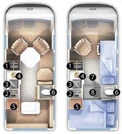 Roadtrek Floor Plans by Roaming Times Rv News And Overviews