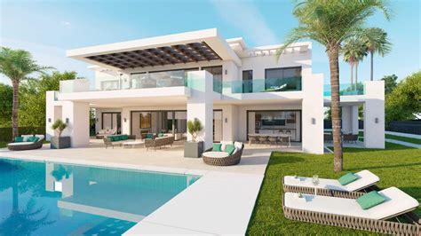 new modern villa in los olivos nueva andalucia residential area in marbella realista