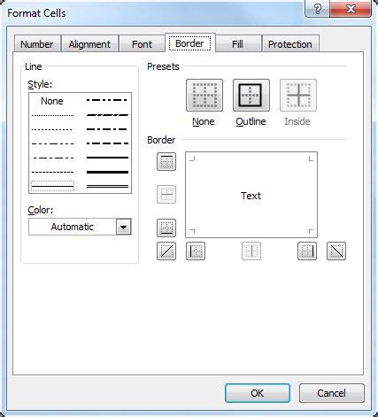 format excel borders kantlinjer bakgrund och mallar f 246 r celler digital kompetens