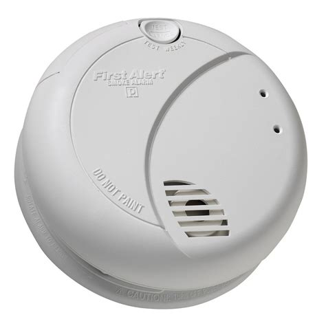 Smoke Detector Wired Into House Alert 70106fba Hardwired Photoelectric Smoke Alarm