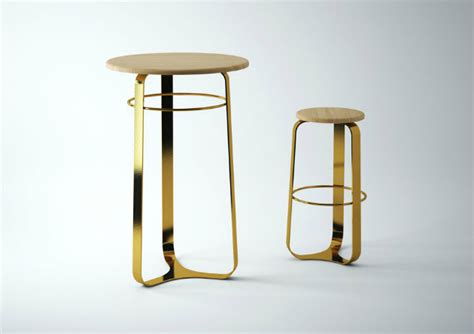 Gold Colored Stool by Top 5 Black And Gold Bar Stools