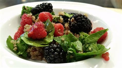 Quinoa Detox Recipes by Summertime Detox Berry Quinoa Salad South Denver Cardiology