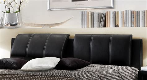 bett verstellbares kopfteil schwarzes polsterbett mit verstellbarem kopfteil carisio