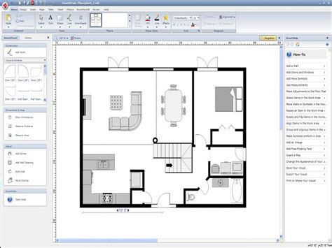 Floor Plan Creator Free Online Floor Plan Online 2d Floor Plans Roomsketcher Easy