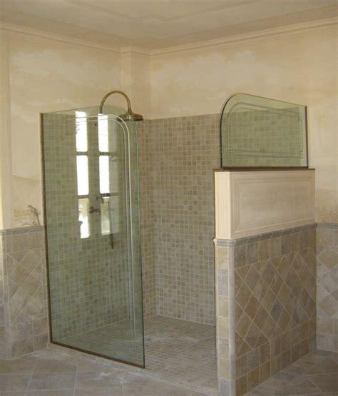 parete vetro doccia pareti per doccia vetro