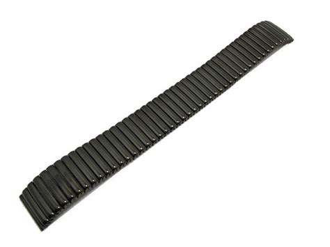 Ma045 Top expansion band stainless steel 18mm black anthracite polished by eichmueller