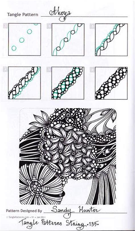 zentangle pattern ibex 2440 best zentangle for beginners images on pinterest