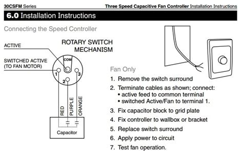 3 speed ceiling fan switch wiring diagram household fan