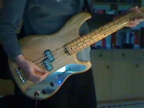Bass Ibanez Sdgr Custom bass demo ibanez blazer custom