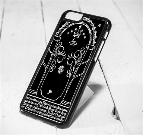 Iphone 5 5s Animal Ring moria gate the lord of the rings protective iphone 6