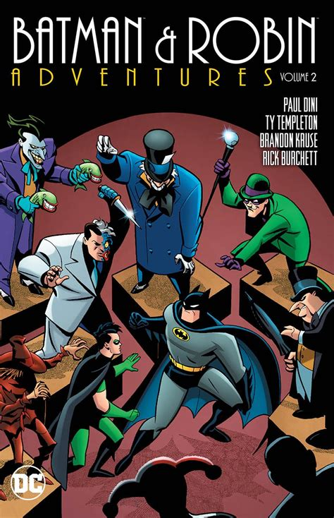 batman robin adventures vol 2 books creators derek hoffman to page 16 of 23 fresh comics
