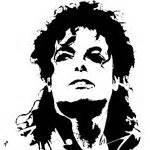 Michael Jackson Wall Sticker 1000 images about stencil famous on pinterest joker
