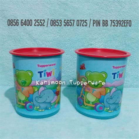 Tupperware Tiwi tiwi canister 2l karimoon tupperware