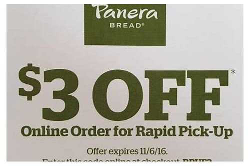panera coupons december 2018