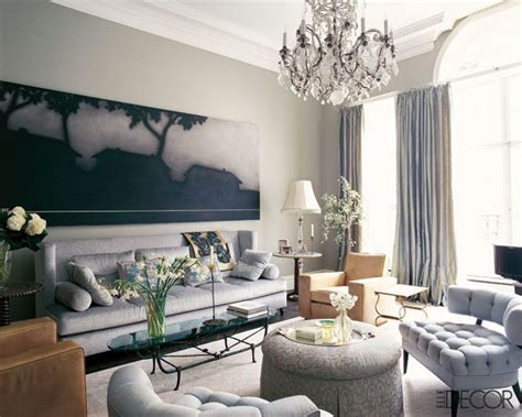 elle decor living rooms elle decor living room tufted chairs interiors living