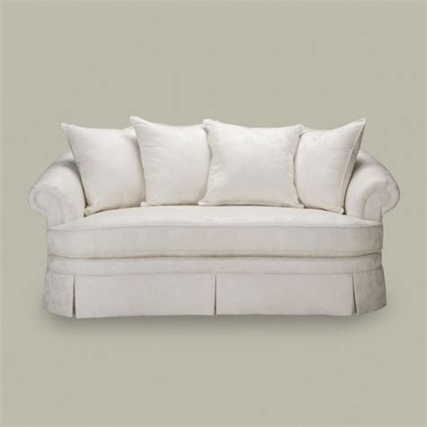ethan allen paris sofa paris sofa one cushion traditional sofas by ethan