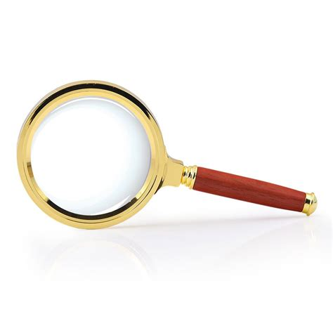 full page magnifying glass with light bright lighting low prices