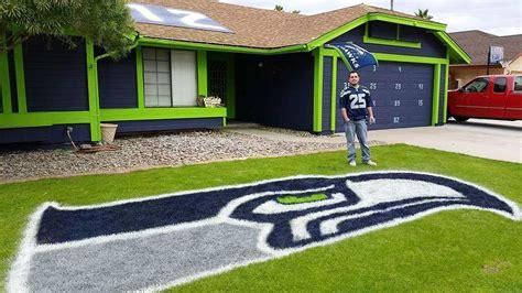 nfl paint colors arizona resident paints house seahawks colors fox sports