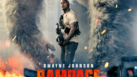 film action rating tertinggi 2017 rage with dwayne johnson new poster lands den of