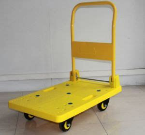 Truck Foldable Caster 150kg 705x440x900mm china plastic platform trolley truck transportation