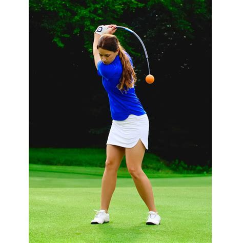 compact golf swing orange whip compact
