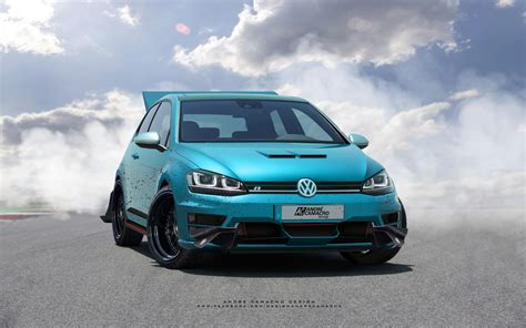 custom vw golf r andr 201 camacho design volkswagen golf r custom 1