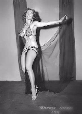 tempest storm burlesque dancer vintage 8