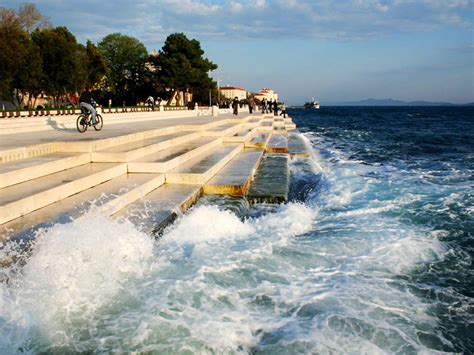 sea organ croatia listen to 230 ft organ that uses the sea to make haunting