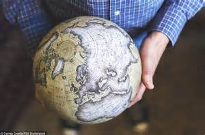 Handmade Globes - handmade globes photographs show the craftman s dedication