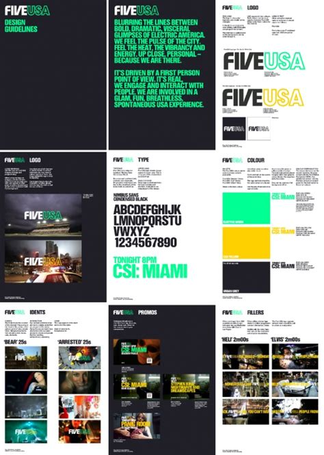graphic design layout rules corp guidelines for five usa by dixon baxi nice simple