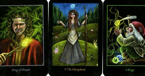 78 whispers in my ear daily draw king of wands hierophant three of rings