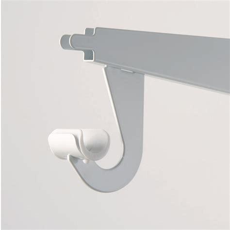 Hanger Rod For Closet by Adjustable Shelf Brackets For Closet Crowdbuild For