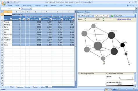 nodexl tutorial new tutorial available analyzing social media networks