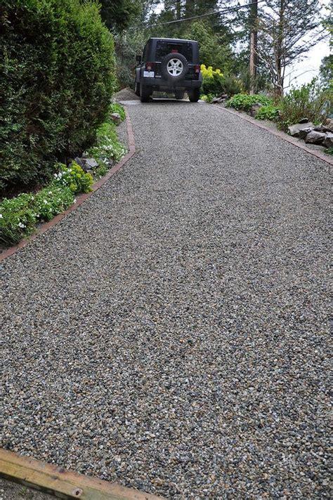 schotter einfahrt 10 best ideas about gravel driveway on