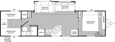 mallard travel trailer floor plans 2005 fleetwood mallard travel trailer rvweb com